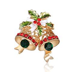 Herrn Damen Broschen Chrismas Luxus-Schmuck Diamantimitate Schmuck Für Party Alltag Weihnachts Geschenke