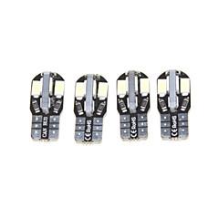 billige Interiørlamper til bil-SENCART T10 Elpærer SMD 5630 220-300lm Blinklys For Universell