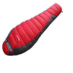 Makuupussi Muumio Ankan untuva -15-20°C Kosteuden kestävä Kannettava Nopea kuivuminen Tuulenkestävä Hengitettävyys 220X80 Metsästys