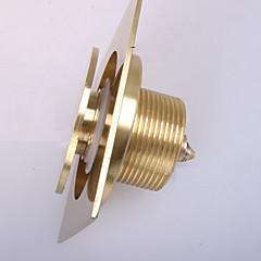 olcso -weiyuwuxian® arany tömör réz anti-szagú nyomja le felugró padlóösszefolyó 4inch