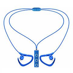 中性生成物 BT-51 イヤバッド(イン・イヤ式)Forメディアプレーヤー/タブレット 携帯電話 コンピュータWithマイク付き DJ ボリュームコントロール FMラジオ ゲーム スポーツ ノイズキャンセ Hi-Fi 監視 Bluetooth