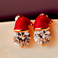 wedding christmas stud earrings wedding party elegante vrouwelijke stijl