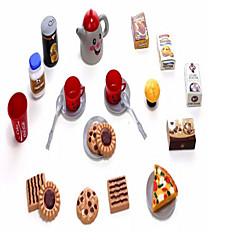 billiga Leksaker och spel-AIQILE Toy köksutrustning Leksaks svDishes & Tea set Leksaksmat Låtsaslek Flicka Doll Dockor Leksaker Mat Originella Plast Flickor Barn