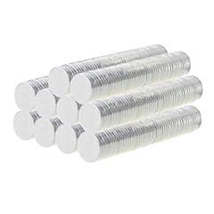 tanie Zabawki magnetyczne-Zabawki magnetyczne Klocki Klocki magnetyczne Magnes neodymowy 500pcs 8*1mm Zabawki Magnes Twórczy Okrągły Prezent