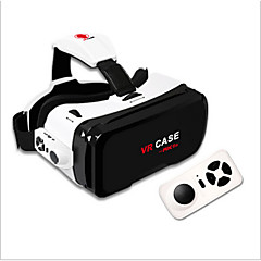 VR CASE RK 6th 130 Wide Angel Degree 3D VR Glasses Ultra-clear Coated Len Virtual Reality VR Case for 4.7 - 6 Inch Smartphone