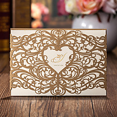Wrap & Pocket Wedding Invitations 20-Invitation Cards Classic Style Card Paper