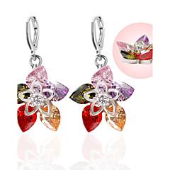cheap Earrings-Rhinestone Stud Earrings Drop Earrings Earrings Jewelry Women Wedding Party Daily Acrylic Rhinestone 1 pair Multi Color