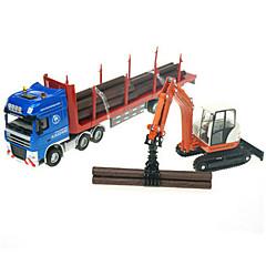 olcso -Játékautók Játékok Tehergépkocsi Munkagépek Játékok Kihajtható Truck Fém ötvözet Fém Klasszikus és időtálló Divatos és modern 1 Darabok