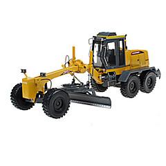 billiga Leksaker och spel-KDW Väghyvel Leksakslastbilar och -byggmaskiner Leksaksbilar 1:28 Indragbart Plast ABS 1pcs Pojkar Vuxna Leksaker Present