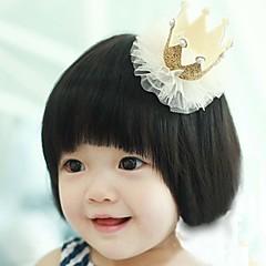 Χαμηλού Κόστους Παιδικά Αξεσουάρ-Κοριτσίστικα Αξεσουάρ Μαλλιών Σετ Κοσμημάτων Κοκαλάκια & Κλάμερ Όλες οι εποχές Χρυσό Ασημί Ρουμπίνι Βυσσινί
