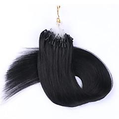 Χαμηλού Κόστους Εξτένσιον με Μικρούς Κρίκους-18-24 0.5g / s 100s βραζιλιάνα τρίχα μικρο δαχτυλίδι επέκταση μαλλιά μαλλιά βρόχο μικρο δακτύλιοι συνδέει επέκταση μαλλιά