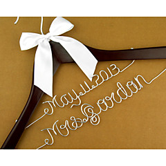 Wedding Birthday Engagement Bridal Shower Valentine's Day Wedding Party Wood Aluminum Alloy Satin Wedding Decorations Classic Theme