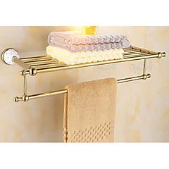 cheap -Bathroom Shelf Contemporary Brass 62 Bathroom Shelf Wall Mounted
