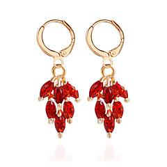 Drop Earrings Earrings Set Jewelry Women Wedding Party Casual Alloy 1 pair Black Silver Red Blue Purple Multi Color