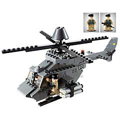 billiga Leksaker och spel-GUDI Byggklossar 179 pcs Stridsvagn Flygplan Helikopter professionell nivå Häftig Helicopter Pojkar Flickor Leksaker Present