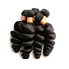 billige Remy fletninger af menneskehår-Menneskehår Remy fletninger af menneskehår Løst, bølget hår Brasiliansk hår 500 g Over et år