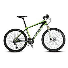 אופני הרים רכיבת אופניים 30 מהיר 700CC/26 אינץ' 44mm מבוגר יוניסקס Shimano דיסק בלימה שמן מזלג שיכוך פחמן רגיל אלומיניום אדום צהוב ירוק