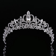 Women Rhinestone Tiaras With Wedding Headpiece Classical Feminine Style