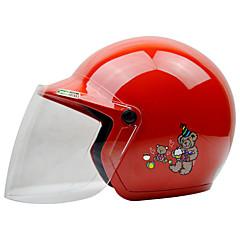 tanie Kaski i maski-REUS Braincap Dzieci Unisex Kask motocyklowy Nieparujący / Oddychający