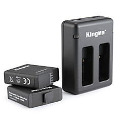 KingMa® Lader batteri For GoPro Hero 5 Stuping Sykkel