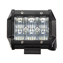 4Inch 1X 30W LED Work Light Bar 5D Offroad Boat Car Tractor Truck SUV ATV Flood 12V Flood Beam LED Work Light Driving Fog Lamp