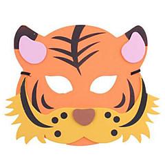 tanie Zabawki nowoczesne i żartobliwe-Maski na Halloween Maska zwierzęca Zabawki Tiger Plastikowy Motyw horroru Kreskówka 1 Sztuk Dla obu płci Karnawał Dzień Dziecka Bal