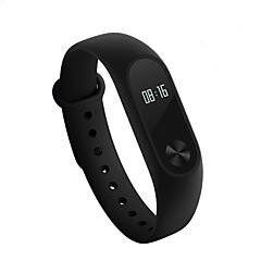 baratos -Xiaomi mi banda 2 rastreador de atividade inteligente pulseira ios tela de toque android monitor de freqüência cardíaca longa espera à prova d 'água