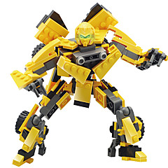 GUDI Robotti Rakennuspalikat Leluautot Lelut Lelut Soturi Ompelukone Robotti muuntuva Poikien Tyttöjen Pojat 211 Pieces