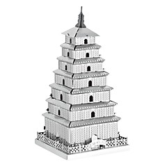 cheap -3D Puzzle / Jigsaw Puzzle / Metal Puzzle Tower / Famous buildings / Chinese Architecture Creative / DIY Classic & Timeless / Chic &