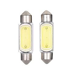 2PCS 36MM LED Bulb 2W Car LED License Plate Lamp Car Reading Lamp White Color