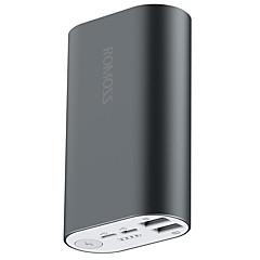 billige Eksterne batterier-ROMOSS Til Power Bank Eksternt batteri 5 V Til 2.1 A / # Til Batterilader med kabel / Flere utganger