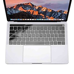 xskn® ultra tynt tastatur deksel for MacBook Pro 13 15 med berørings bar (a1706 / a1707) klar TPU laptop-tastatur hud beskyttende film oss