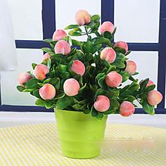 ieftine -1 ramură Real atingere Față de masă flori Flori artificiale