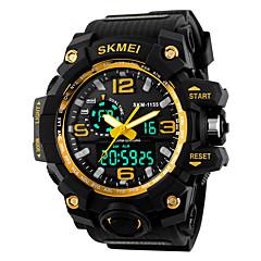 tanie Inteligentne zegarki-Inteligentny zegarek YY1155 na Długi czas czuwania / Wodoszczelny / Wodoodporny / Wielofunkcyjne Stoper / Budzik / Chronograf / Kalendarz / > 480