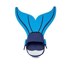 billiga Dykmasker, snorklar och simfötter-Dykning Fenor / Simfenor Sjöjungfru, Quick Release, Justerbar passform Simmning, Dykning, Snorkelfenor Silikon, TPR - för Barn Grön / Blå