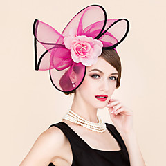 Tulle Velvet Headpiece-Wedding Special Occasion Outdoor Headbands 1 Piece