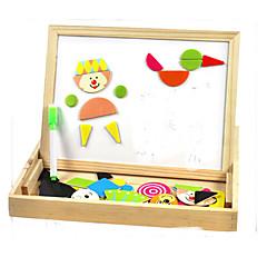 Bildungsspielsachen Holzpuzzle Spielzeuge Quadratisch Kinder 1 Stücke