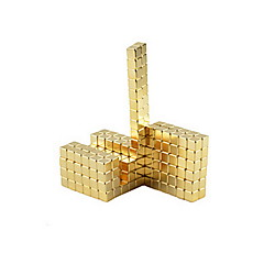 tanie Zabawki magnetyczne-Zabawki magnetyczne Magiczne kostki Gadżety antystresowe 648pcs 5mm Kwadrat Zabawki Prezent