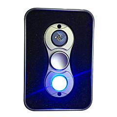 ハンドスピナー おもちゃ ハイスピード ストレスや不安の救済 オフィスデスクのおもちゃ ADD、ADHD、不安、自閉症を和らげる キリングタイム フォーカス玩具 LEDライト LEDライト 2スピナー LEDスピナー メタル クラシック 小品 ギフト
