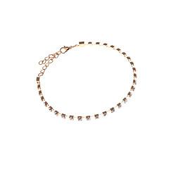 baratos Bijoux de Corps-Tornezeleira - Fashion Prateado / Gloden Para Diário / Casual / Mulheres / Strass