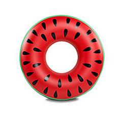 hesapli Şişme Botlar ve Havuz Şezlongları-Fuşya Şişme Havuz Şamandıraları Donut Havuz Şamandıraları Ekstra Büyük Kalın PVC Yetişkin Genç Erkek