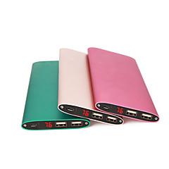 billige Eksterne batterier-strømbank eksternt batteri 5v #a batterilader multi-utgang qc 2.0 qc 3.0 super slank ledet