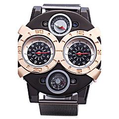 cheap Men's Watches-JUBAOLI Men's Quartz Sport Watch Large Dial Alloy Band Charm Black