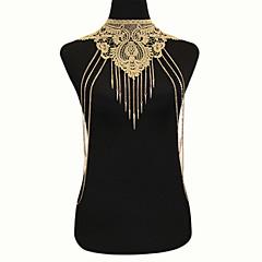 tanie Piercing-Damskie Biżuteria Łańcuch nadwozia / Belly Chain Koronka Stop Gold Artystyczny Modny Gotyckie Biżuteria kostiumowa Na Specjalne okazje