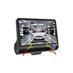 Χαμηλού Κόστους -UTC-OTF-C2 1080p / Full HD 1920 x 1080 DVR αυτοκινήτου 170 μοίρες Ευρεία γωνεία 4inch Dash Cam με Εγγραφή κύκλου βρόχου / Αδιάβροχη /