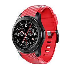 tanie Inteligentne zegarki-YYLES16 Inteligentny zegarek Android iOS 3G 2G GPS Sport Wodoodporny Pulsometry Ekran dotykowy Czasomierze Stoper Rejestrator aktywności fizycznej Rejestrator snu siedzący Przypomnienie / Budzik