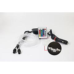 car interior decoration and accessories 5M RGB fiber optic led atmosphere light