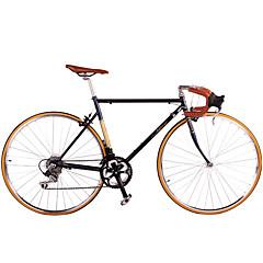 אופני קרוזר רכיבת אופניים 14 מהיר 700CC/26 אינץ' שימאנו ש בלםV ללא דאמפים שלדת פלדה ללא דאמפים נגד החלקה סגסוגת אלומיניום פלדה
