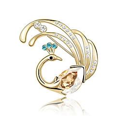 Dame Nåler Smykker Unikt design Personalisert Euro-Amerikansk Edelsten Legering Smykker Smykker Til Fest Daglig Avslappet