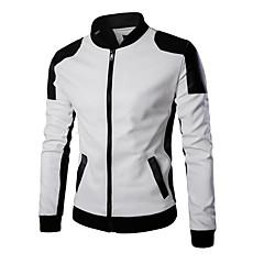 tanie Kurtki motocyklowe-Ubrania motocyklowe Ceket Skóra PU Na każdy sezon Odporny / a na działanie wiatru